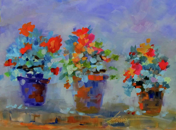 Painting - Three Wishes  by Adele Bower
