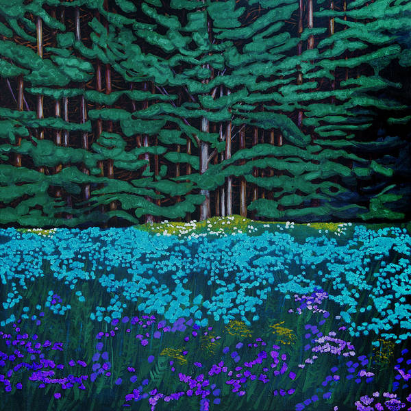 Threshold Of The Woods Art Print