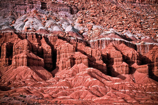 Photograph - Thrones, Capital Reef by Gary Shepard