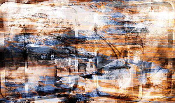 Through An Open Window.. Art Print