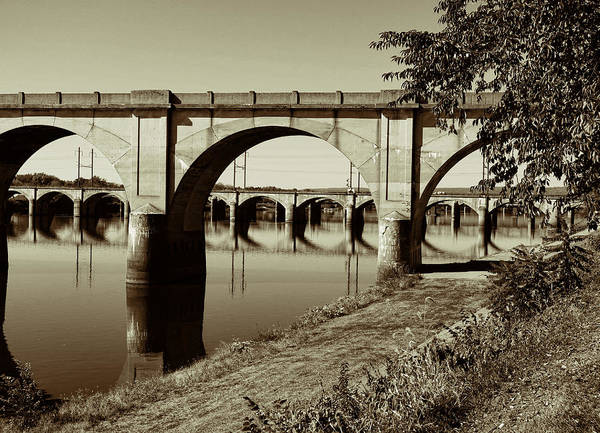 Rockville Photograph - Through The Arch by Jean Macaluso