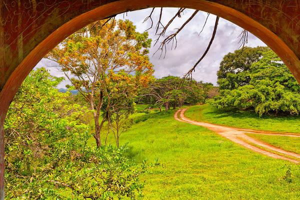 Photograph - Through The Arch by John M Bailey