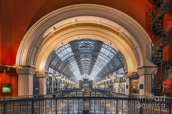 Mall Wall Art - Photograph - Through The Archway by Evelina Kremsdorf