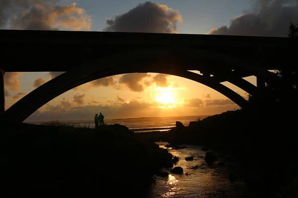 Photograph - Through The Bridge - 2 by Christy Pooschke