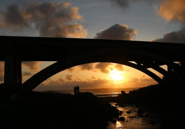 Photograph - Through The Bridge  by Christy Pooschke