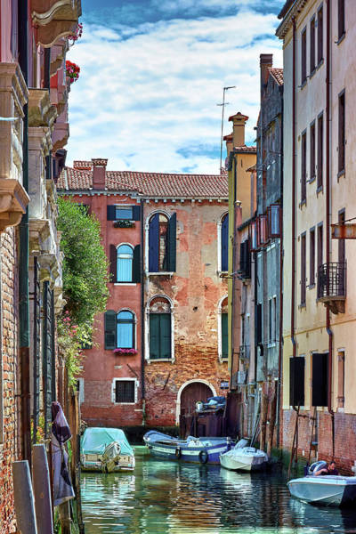 Photograph - Spring Time In Venice, Italy by Fine Art Photography Prints By Eduardo Accorinti