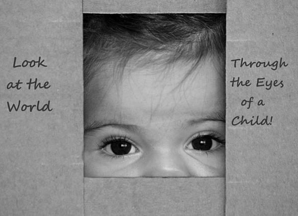 Through The Eyes Of A Child Art Print