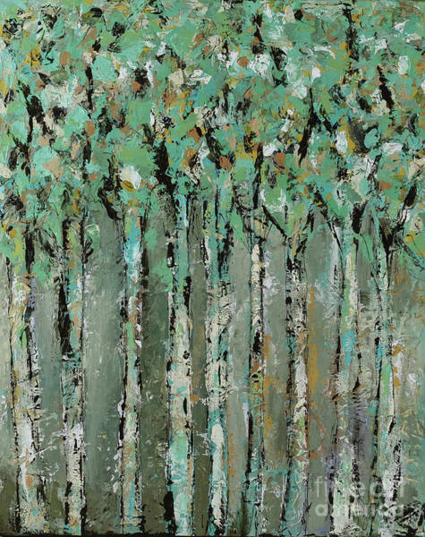 Wall Art - Painting - Through The Forest by Kirsten Reed