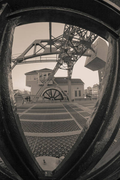 Photograph - Through The Gear In Mystic Ct by Kirkodd Photography Of New England