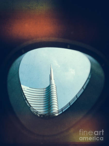 Photograph - Through The Hole by Silvia Ganora