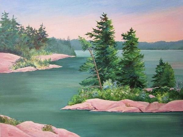 Painting - Through The Islands by Sue Nelson