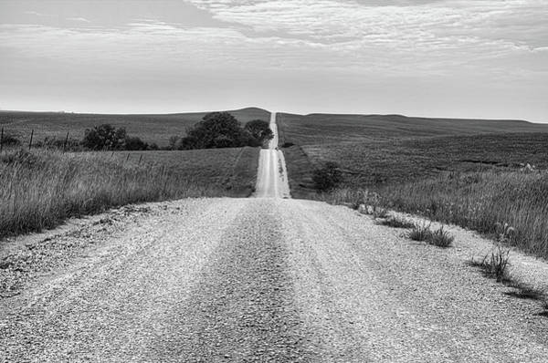 Wall Art - Photograph - Through The Kansas Flint Hills by JC Findley