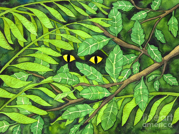 Painting - Through The Leaves by Kristen Fox