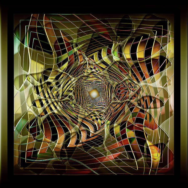 Showpiece Digital Art - Through The Looking Glass by Andy Young