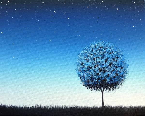 Wall Art - Painting - Through The Nights by Rachel Bingaman