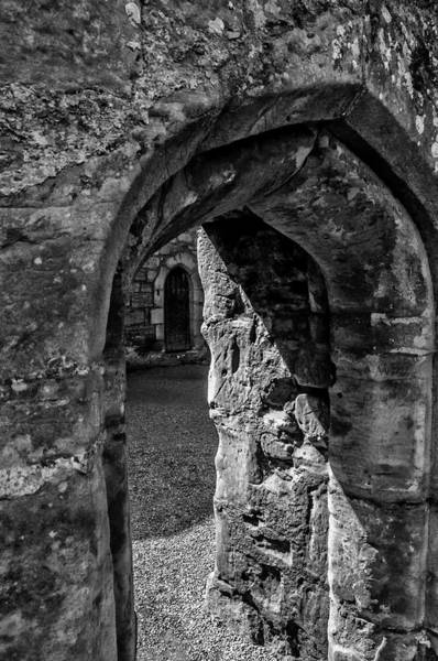 Bodiam Photograph - Through The Portal by Simon Pellett