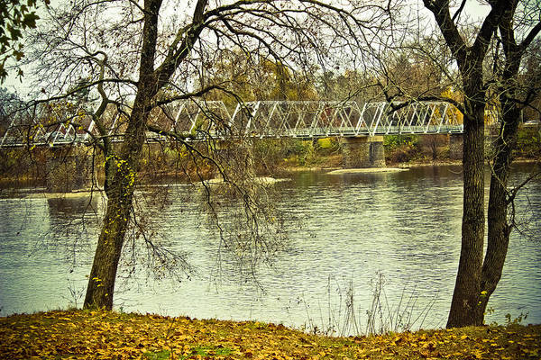 Washington Crossing Photograph - Through The Trees - Washington Crossing Bridge by Colleen Kammerer