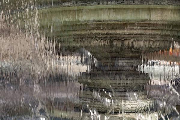 Photograph - Through The Water Curtain - A Silky Veil Added Dimension - Take Two by Georgia Mizuleva
