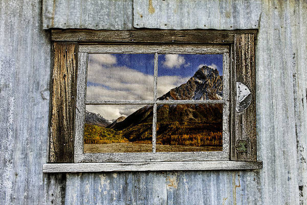 Photograph - Through The Window Of The Past 2 by Fred Denner