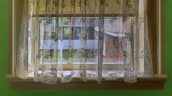 Wall Art - Photograph - Through The Window - The Neighbors by Nikolyn McDonald