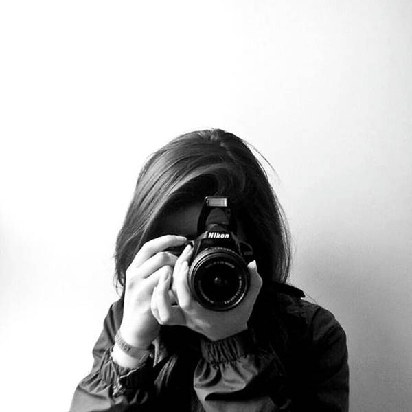Wall Art - Photograph - Girl With A Camera by Jul V