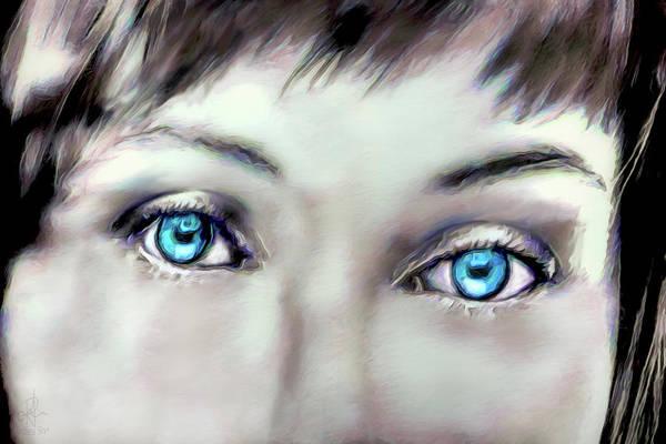 Digital Art - Thru Her Eyes by Pennie McCracken