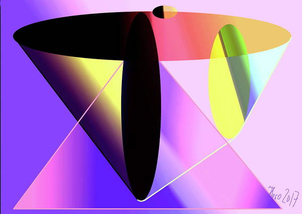 Ingredient Digital Art - Thrust by Helmut Rottler