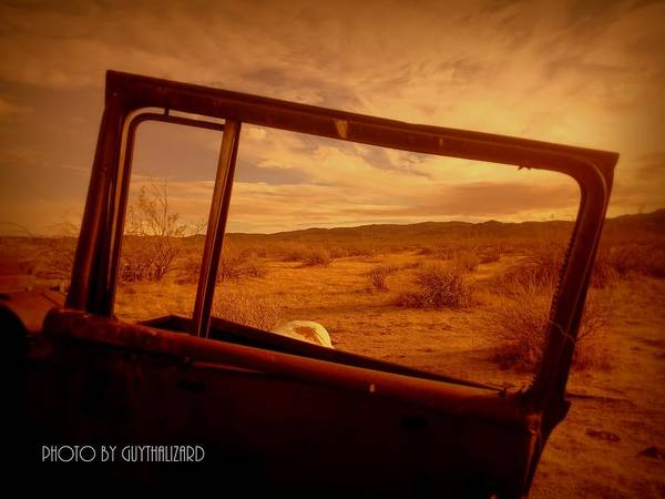 Photograph - Thruthewindow by Guy Hoffman