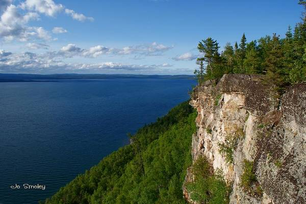 Photograph - Thunder Bay Lookout by Joanne Smoley