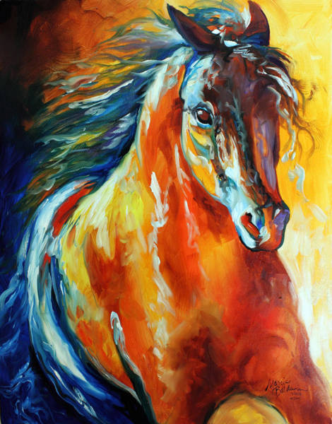 Painting - Thunder Magic by Marcia Baldwin