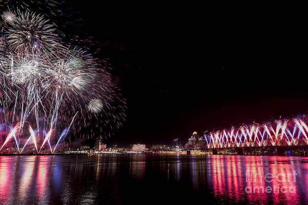 Photograph - Thunder Over Louisville by Andrea Silies