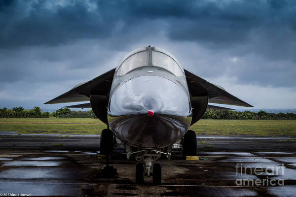Nuclear Bomber Wall Art - Photograph - Thunder Struck by Mitch Shindelbower