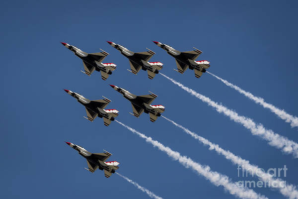 Photograph - Thunderbird Formation by Andrea Silies