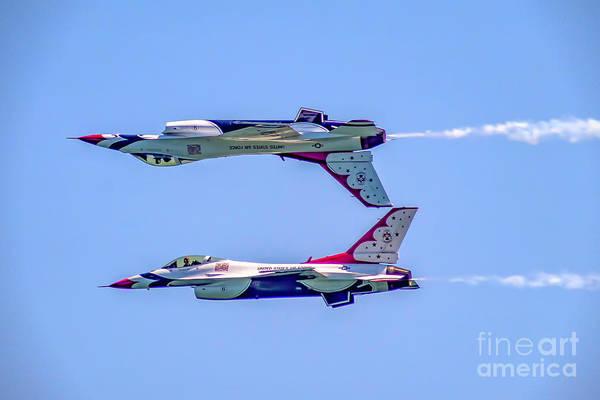 Photograph - Thunderbirds Calypso Pass by Nick Zelinsky