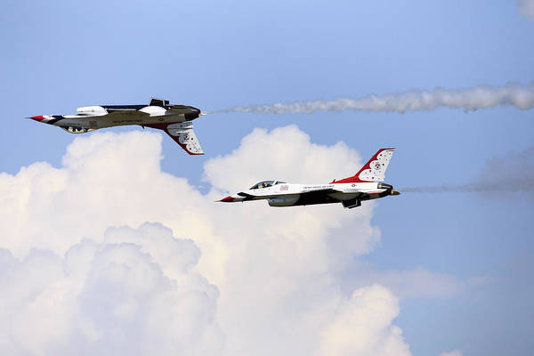 Photograph - Thunderbirds by Charles Hite