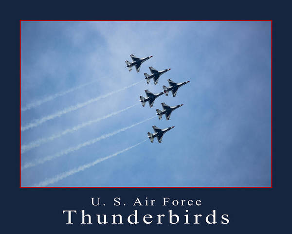 Wall Art - Photograph - Thunderbirds by Dale Kincaid