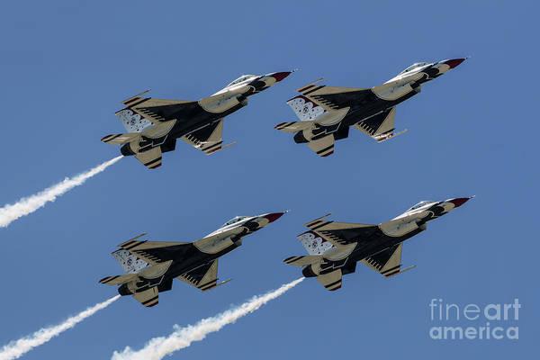 Photograph - Thunderbirds Dsc5807 by Andrea Silies