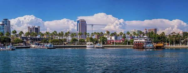 Photograph - Thunderheads Over Long Beach by Lynn Bauer