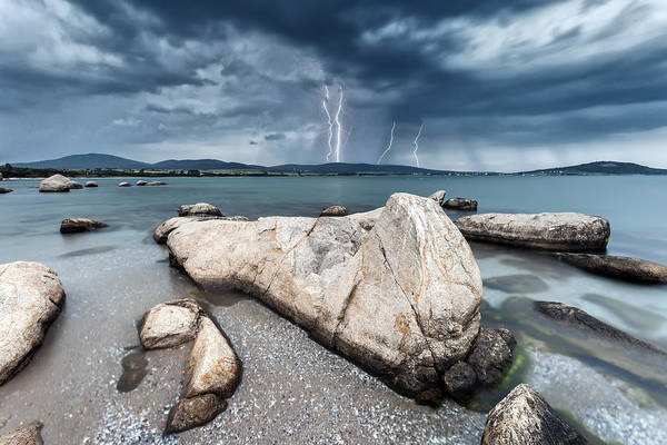 Photograph - Thunderstorm  by Evgeni Dinev