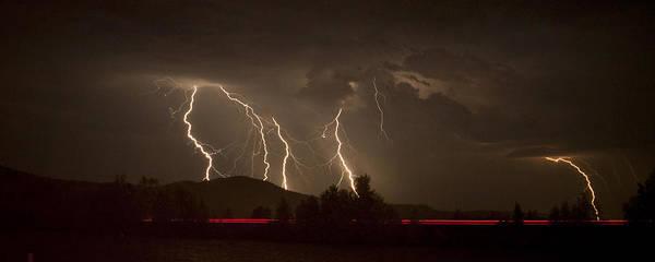 Photograph - Thunderstorm IIi by Albert Seger