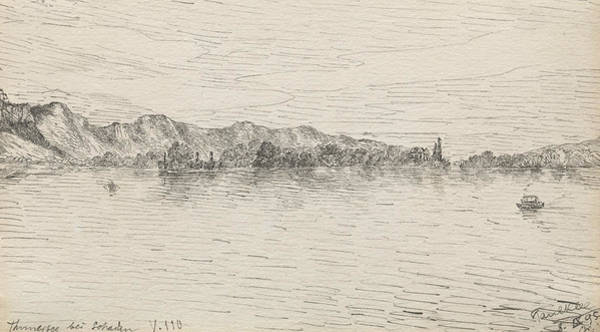 Drawing - Thunersee Near Schadau by Paul Klee