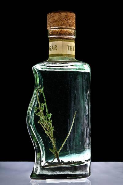 Photograph - Thyme Vinegar by  Onyonet  Photo Studios