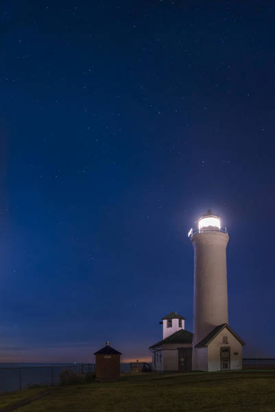 Wall Art - Photograph - Tibbets Point Light Night by Mark Papke