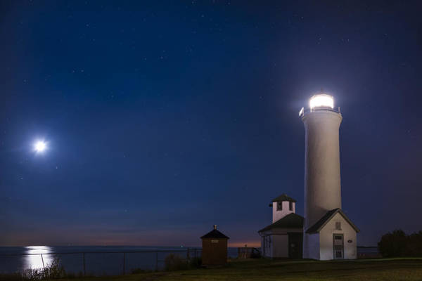 Wall Art - Photograph - Tibbets Point Night by Mark Papke
