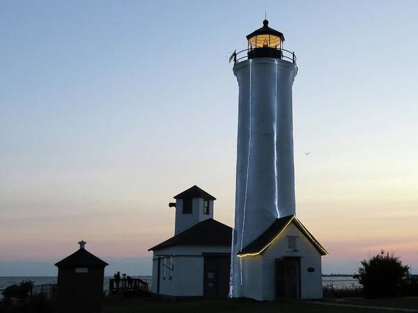 Photograph - Tibbetts Point Lighthouse                              by Dennis McCarthy