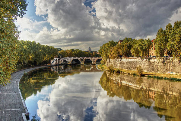 Photograph - Tiber Morning by Peter Kennett