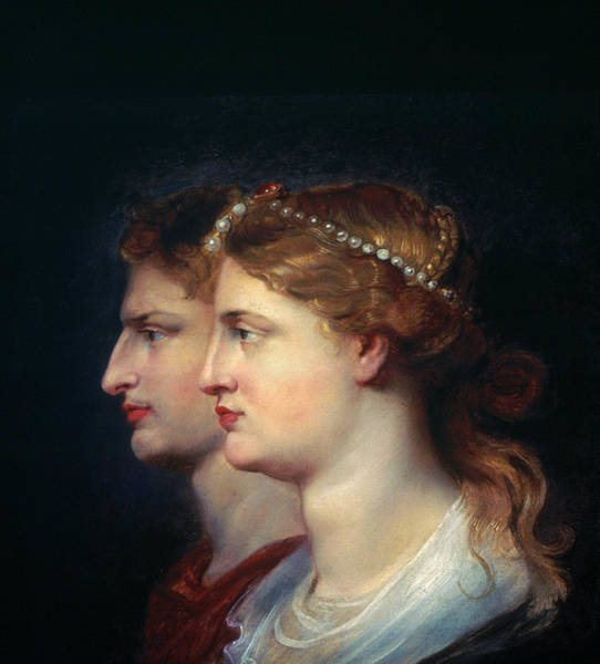 Photograph - Tiberius & Agrippina by Granger