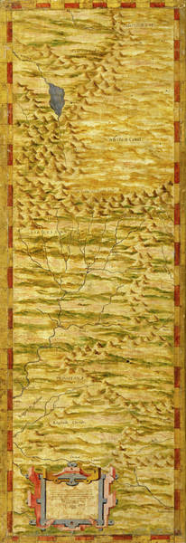 Wall Art - Painting - Tibet, Nepal And Northern Hindustan by Italian painter of the 16th century