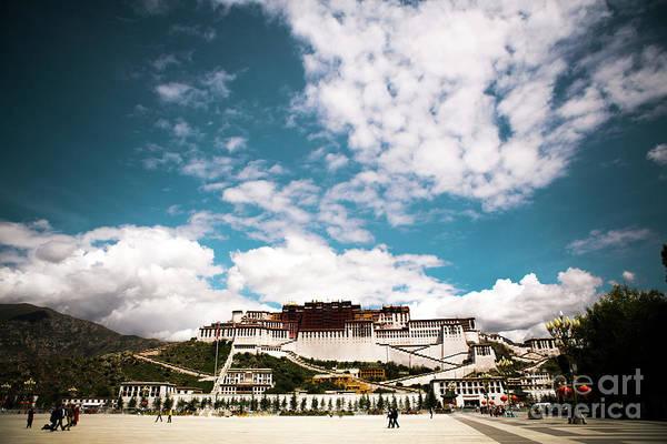 Kora Wall Art - Photograph - Tibet Potala Palace Dalai Lama Home Place. Kailash Yantra.lv 2016  by Raimond Klavins