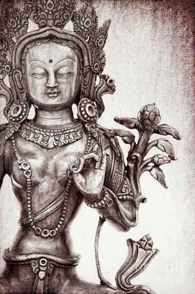 Photograph - Tibetan Tara by Tim Gainey